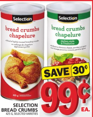 Selection Bread Crumbs
