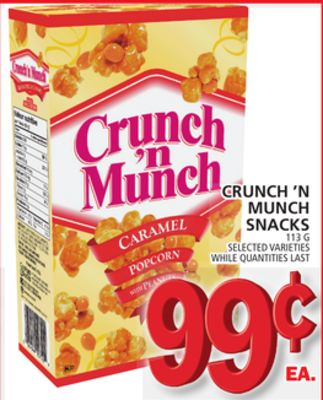 Crunch 'N Munch Snacks
