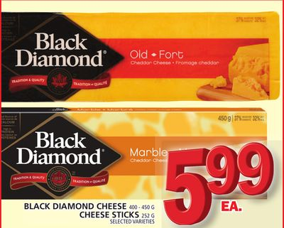 Black Diamond Cheese Or Cheese Sticks