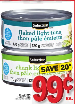 Selection Light Tuna