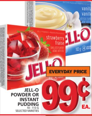 Jell-o Powder Or Instant Pudding