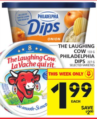 The Laughing Cow Or Philadelphia Dips