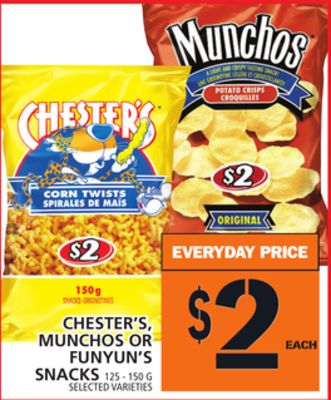 Chester's - Munchos Or Funyun's Snacks