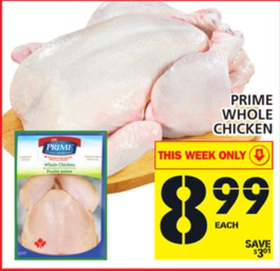 Prime Whole Chicken
