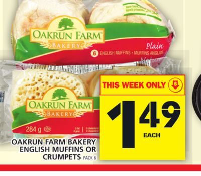 Oakrun Farm Bakery English Muffins Or Crumpets