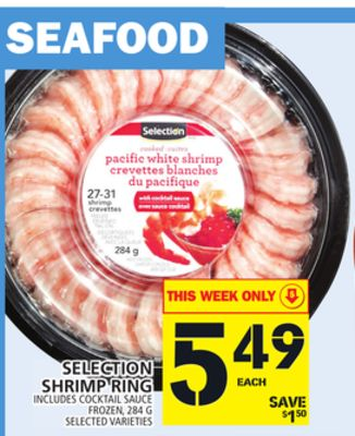 Selection Shrimp Ring