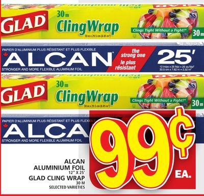 Glad Alcan Aluminium Foil Or Glad Cling Wrap