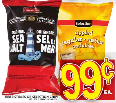 Irresistibles Or Selection Chips