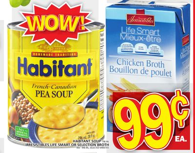 Habitant Soup Or Irresistibles Life Smart Or Selection Broth
