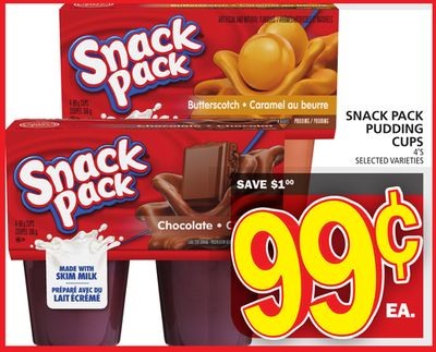 Snack Pack Pudding Cups