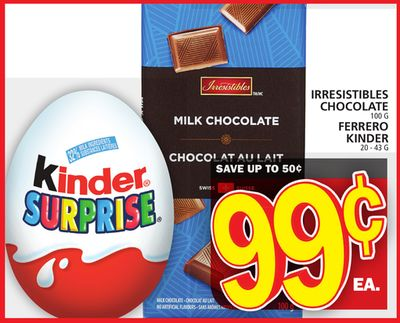 Irresistibles Chocolate Or Ferrero Kinder