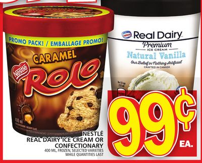 Nestlé Real Dairy Ice Cream Or Confectionary