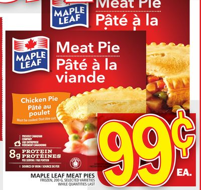 Maple Leaf Meat Pies