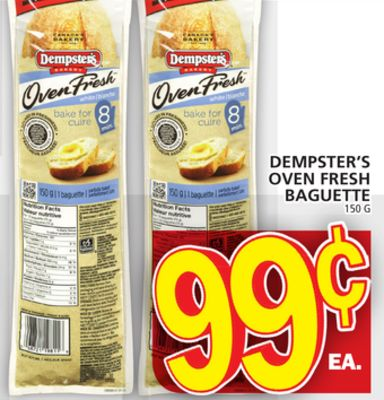 Dempster's Oven Fresh Baguette