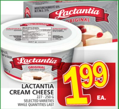 Lactantia Cream Cheese
