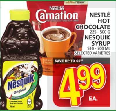 Nestlé Hot Chocolate Or Nestlé Hot Chocolate
