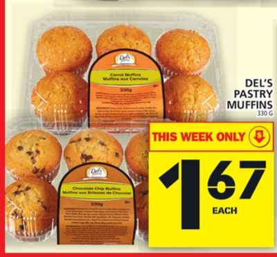 Del's Pastry Muffins