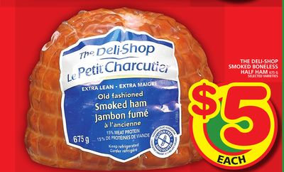 The Deli-shop Smoked Boneless Half Ham