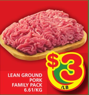 Lean Ground Pork Family Pack