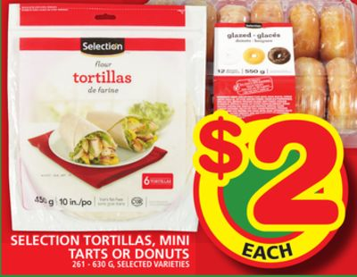 Selection Tortillas - Mini Tarts Or Donuts