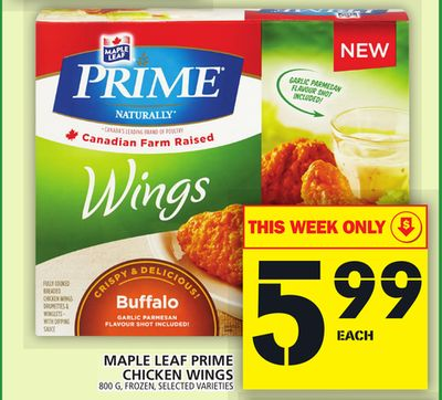 Maple Leaf Prime Chicken Wings