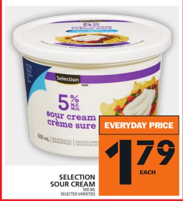 Selection Sour Cream