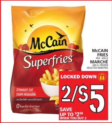 Mccain Fries Or Marché