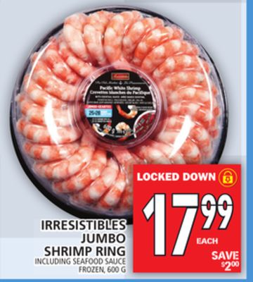 Irresistibles Jumbo Shrimp Ring