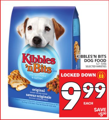 Kibbles'n Bits Dog Food