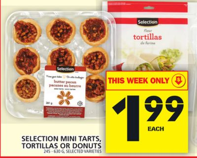 Selection Mini Tarts - Tortillas Or Donuts