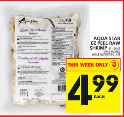 Aqua Star Ez Peel Raw Shrimp