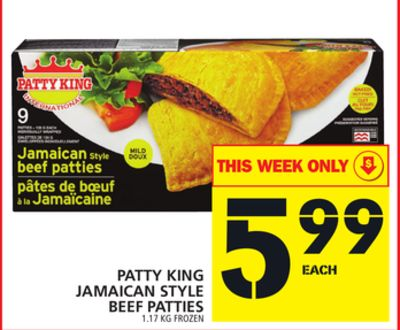 Patty King Jamaican Style Beef Patties