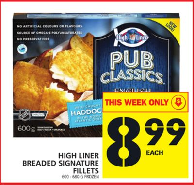 High Liner Breaded Signature Fillets