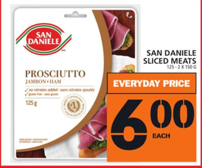 San Daniele Sliced Meats