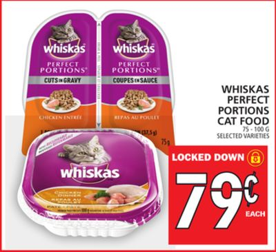 Whiskas Perfect Portions Cat Food