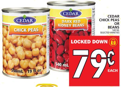 Cedar Chick Peas Or Beans