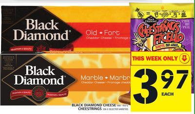 Black Diamond Cheese Or Cheestrings
