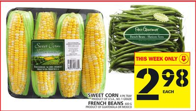 Sweet Corn Or French Beans