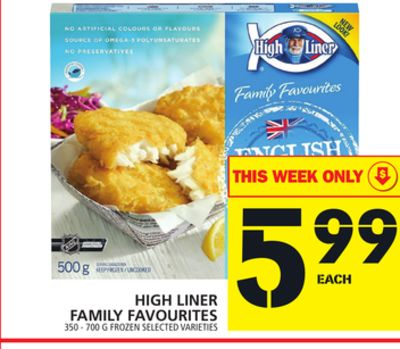 High Liner Family Favourites