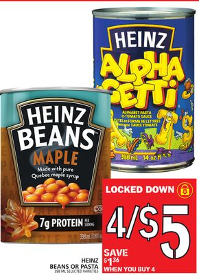 Heinz Beans Or Pasta