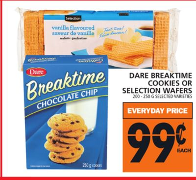 Dare Breaktime Cookies Or Selection Wafers