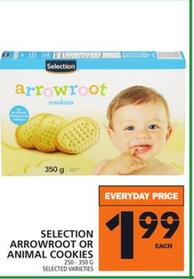 Selection Arrowroot Or Animal Cookies
