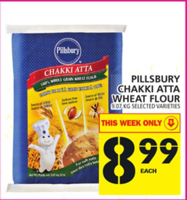Pillsbury Chakki Atta Wheat Flour