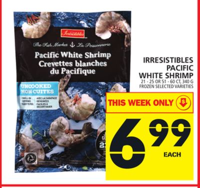 Irresistibles Pacific White Shrimp