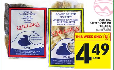 Chelsea Salted Cod Or Pollock