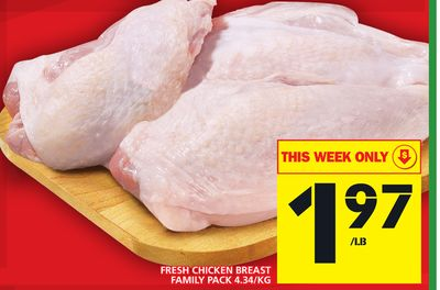 Fresh Chicken Breast Family Pack