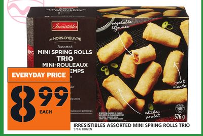 Everyday Assorted Mini Spring Rolls Trio