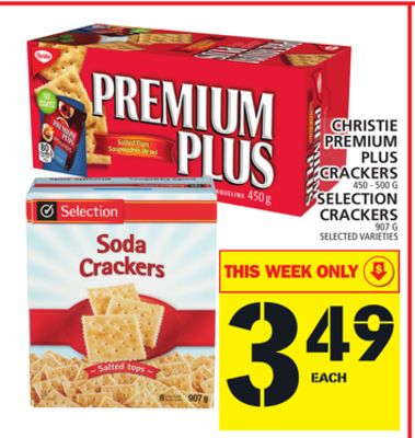 Christie Premium Plus Or Selection Crackers