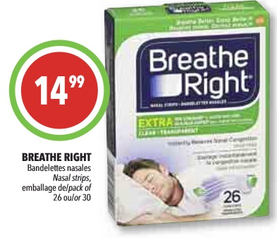 The Cns breathe right strips marketing think