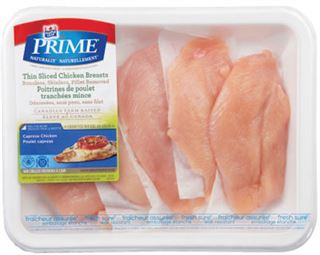 Maple Leaf Prime Fresh Chicken Breast Fillets - Portions - Thin Sliced Cutlets Or Butterflied